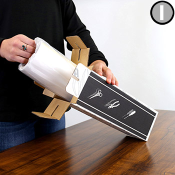 Step 1: How to Create Shadow Board with Shadow-Mark Tools Silhouette Tape Rolls