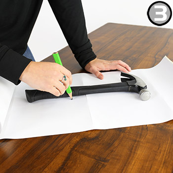 Step 3: How to Create Shadow Board with Shadow-Mark Tools Silhouette Tape Rolls
