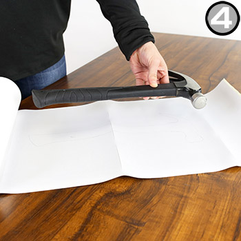 Step 4: How to Create Shadow Board with Tool Silhouette Shadow Mark Tape Rolls