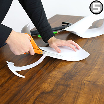Step 5: How to Create Shadow Board with Shadow-Mark Tools Silhouette Tape Rolls