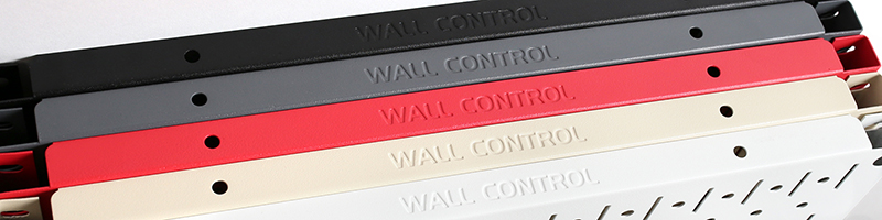 Wall Control Signature Series Textured Matte Pegboard Colors