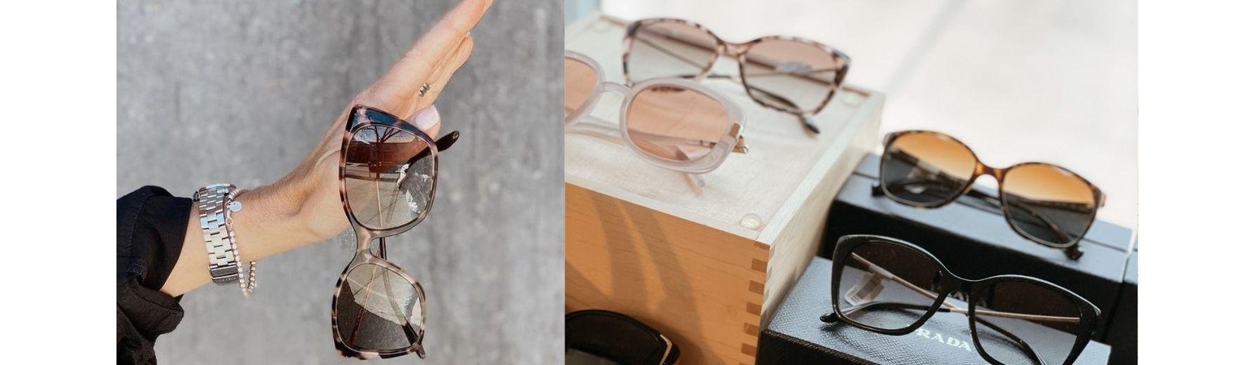 Shop Prada, Tory Burch, Ray Ban Sunglasses online.