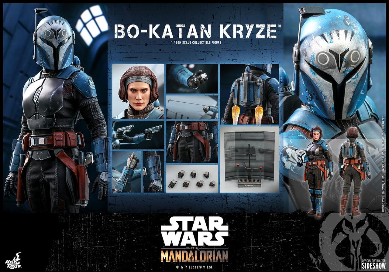 "Hot Toys 1/6 12"" TMS035 Bo-Katan Kryze Action Figure"