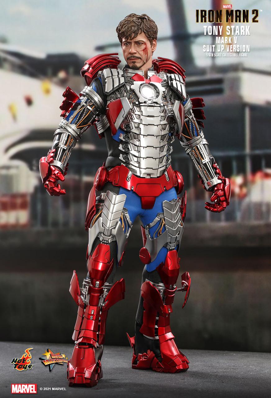 MMS599 Tony Stark Suit-Up 3