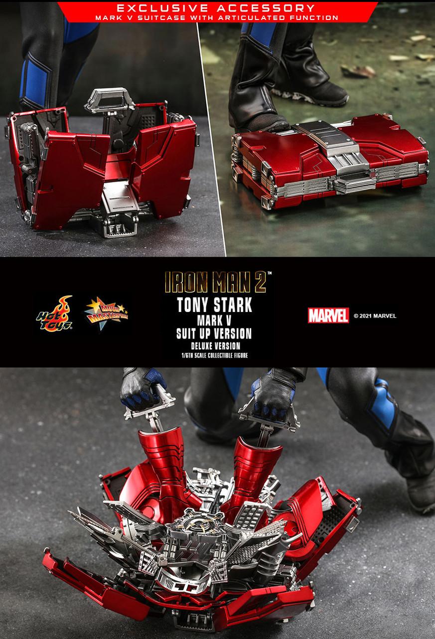 MMS600 Tony Stark Suit-Up Deluxe 4