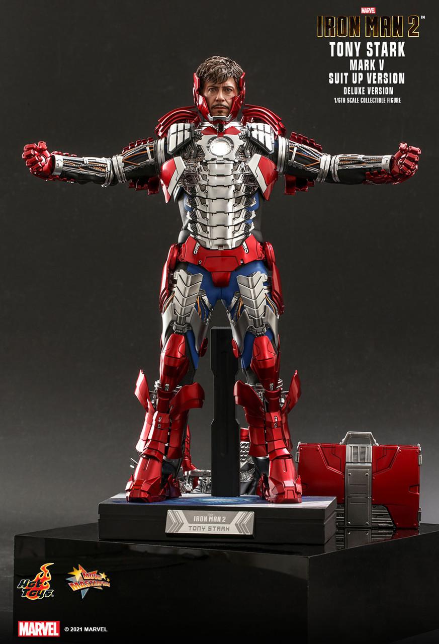 MMS600 Tony Stark Suit-Up Deluxe 2