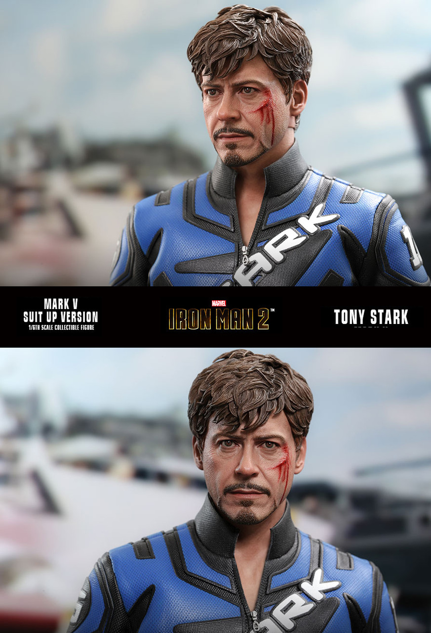 MMS600 Tony Stark Suit-Up Deluxe 3