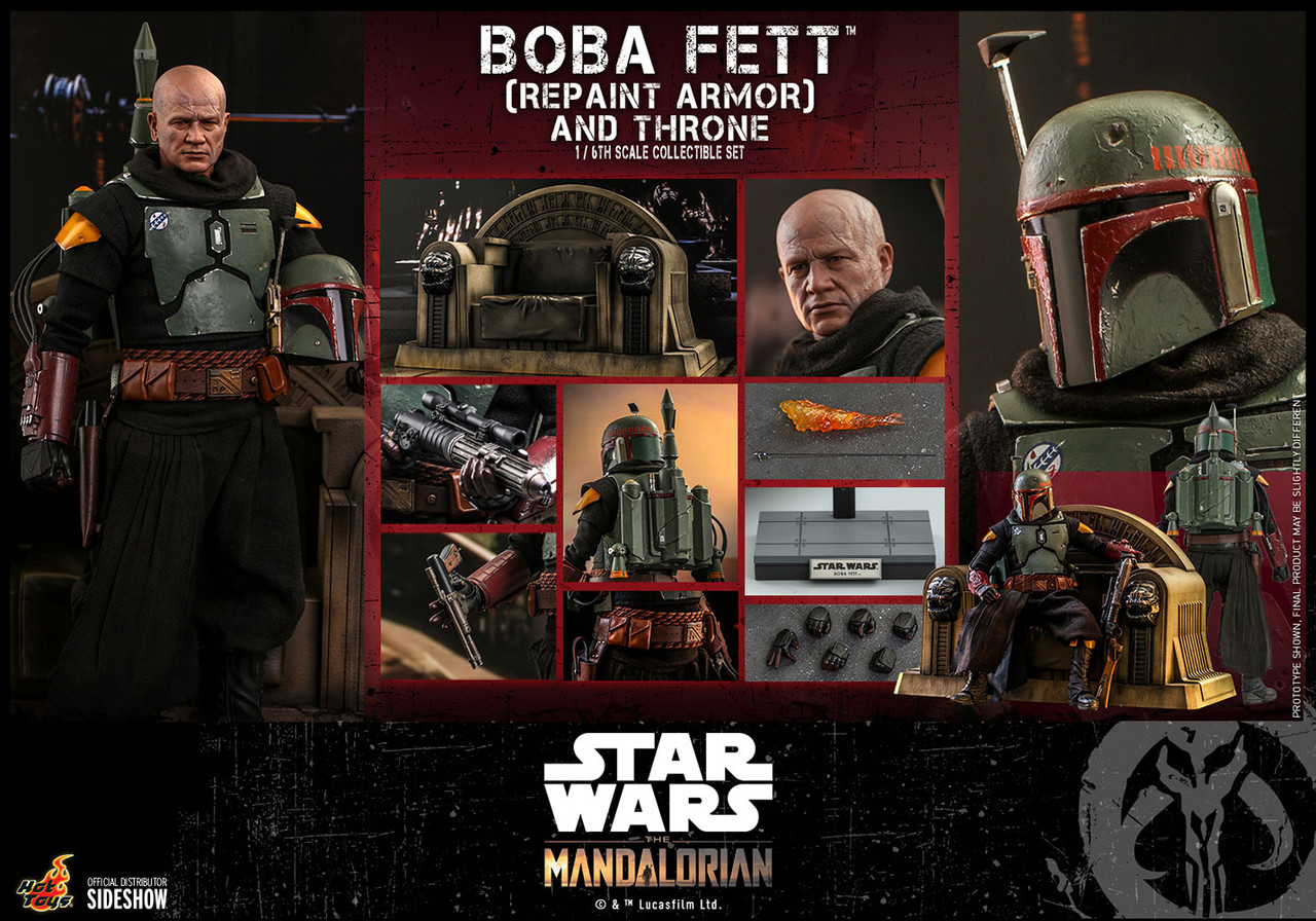 TMS056 Boba Fett (Repaint Armor) 4