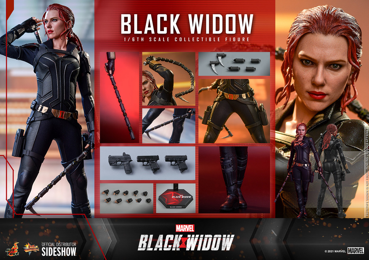 MMS603 Black Widow Movie 4