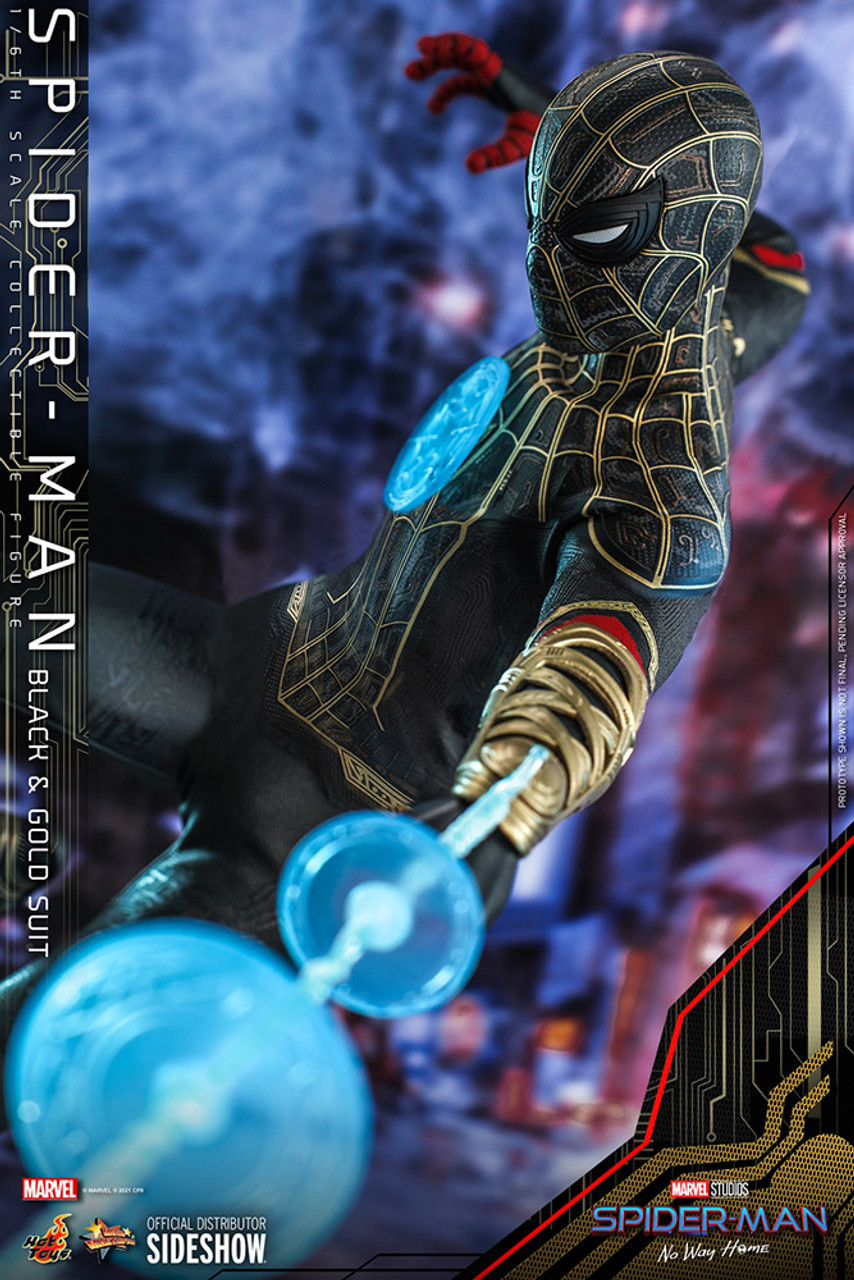 MMS604 Spider-Man (Black & Gold Suit) 2
