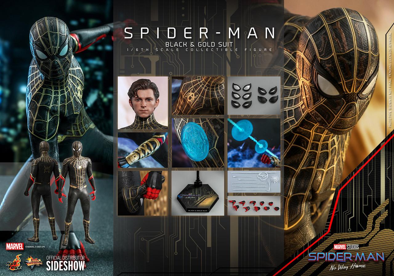 MMS604 Spider-Man (Black & Gold Suit) 4