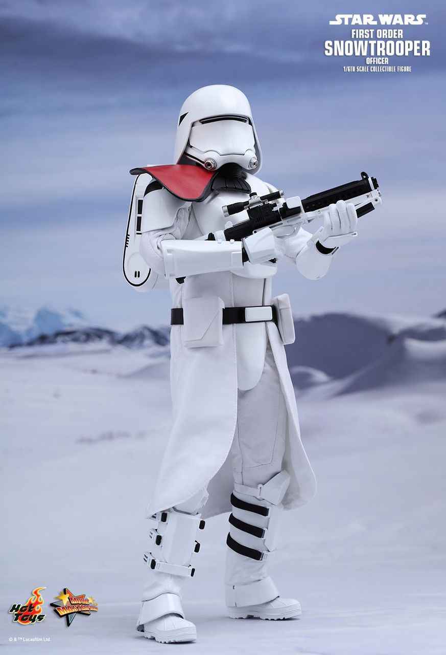 MMS322 Star Wars First Order Snowtrooper Officer 1