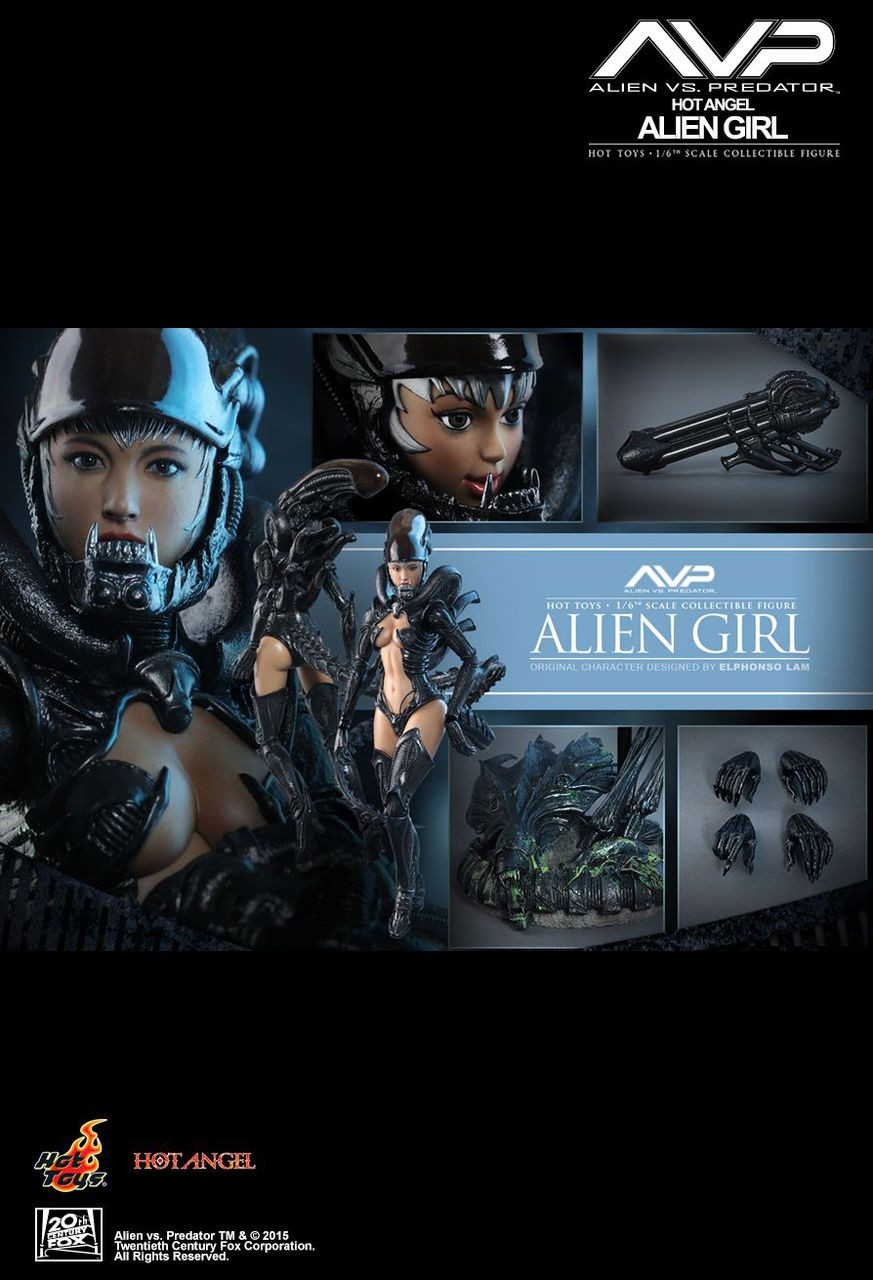 HAS002 Alien vs Predator Hot Angel Girl 4