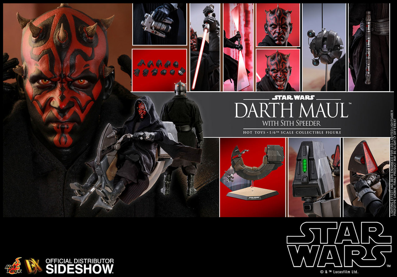 DX17 Darth Maul w/Speeder 4