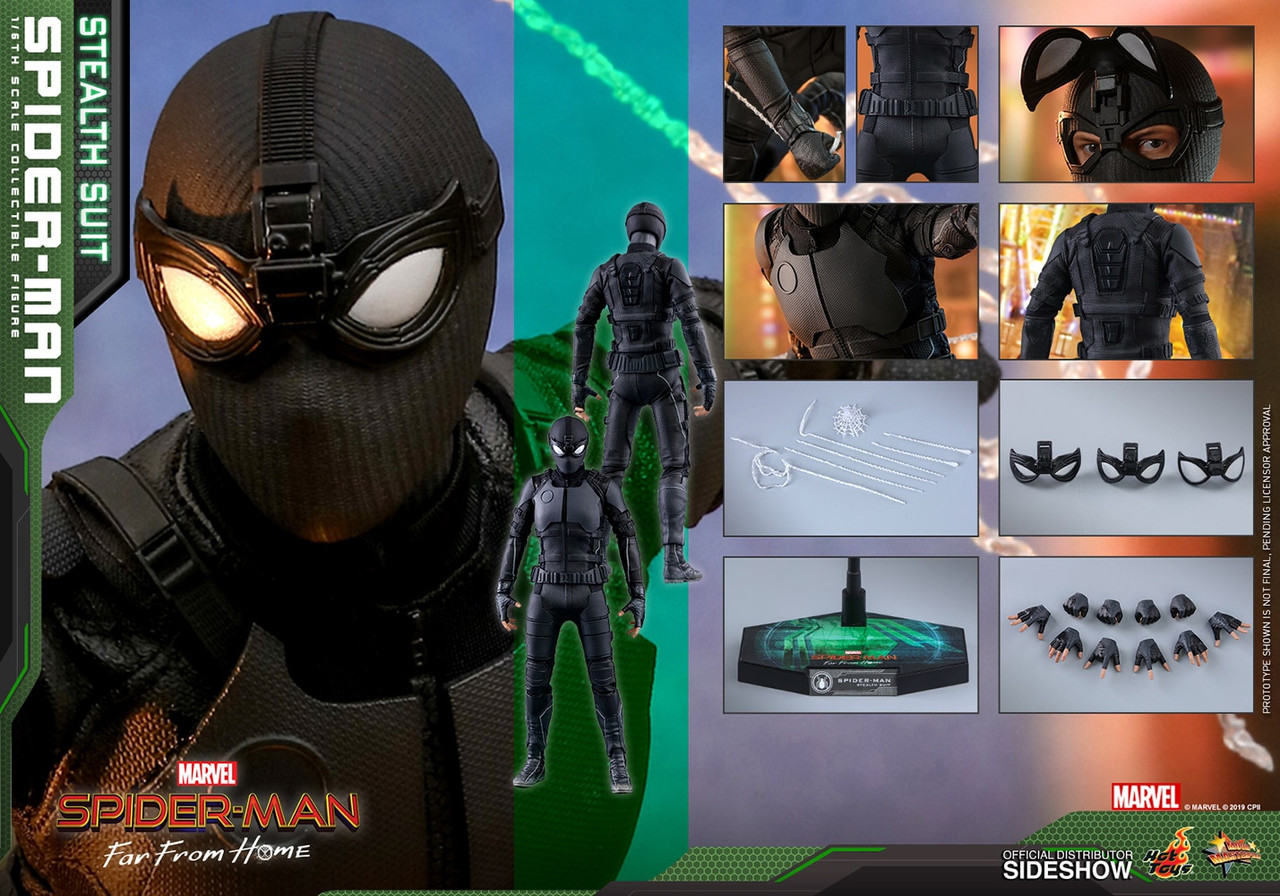 MMS540 Spider Man Stealth Suit  4