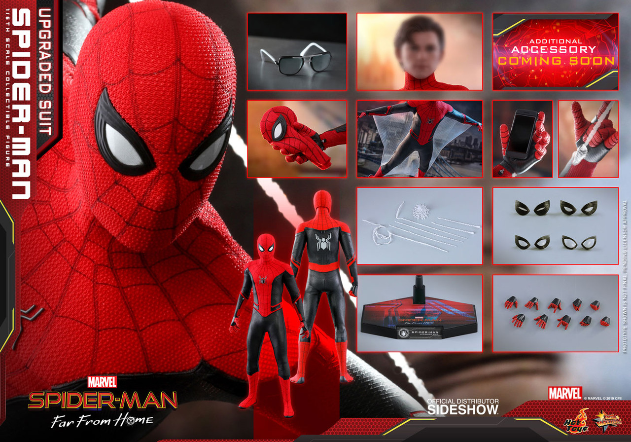 MMS542 Spider Man Upgraded Suit 3