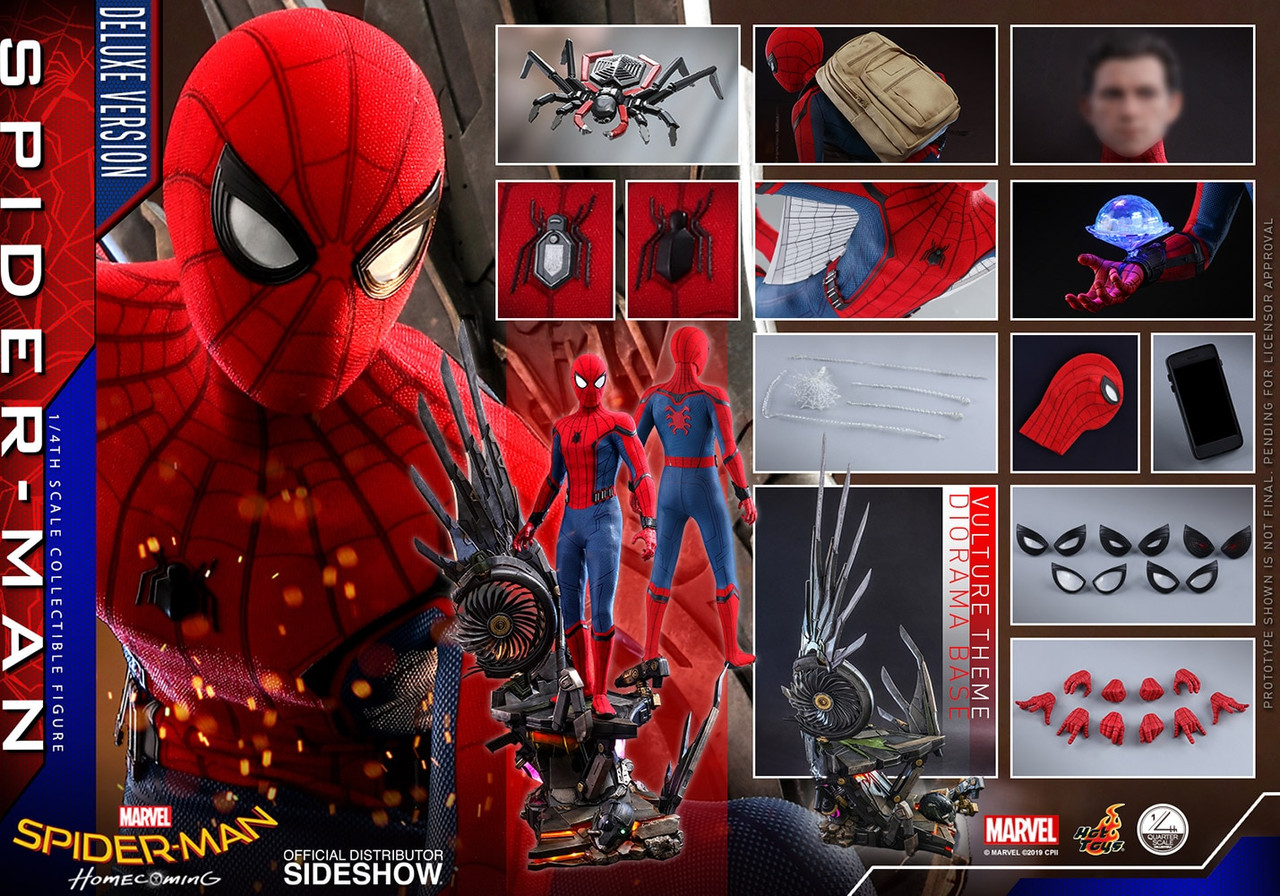 QS015 Spider Man Homecoming Deluxe 4
