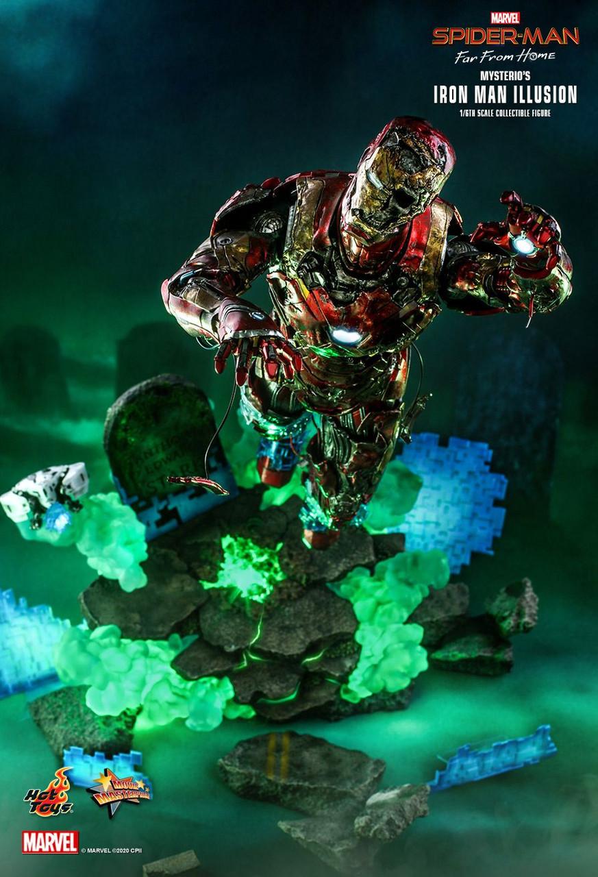 MMS580 Mysterio's Iron Man Illusion 2