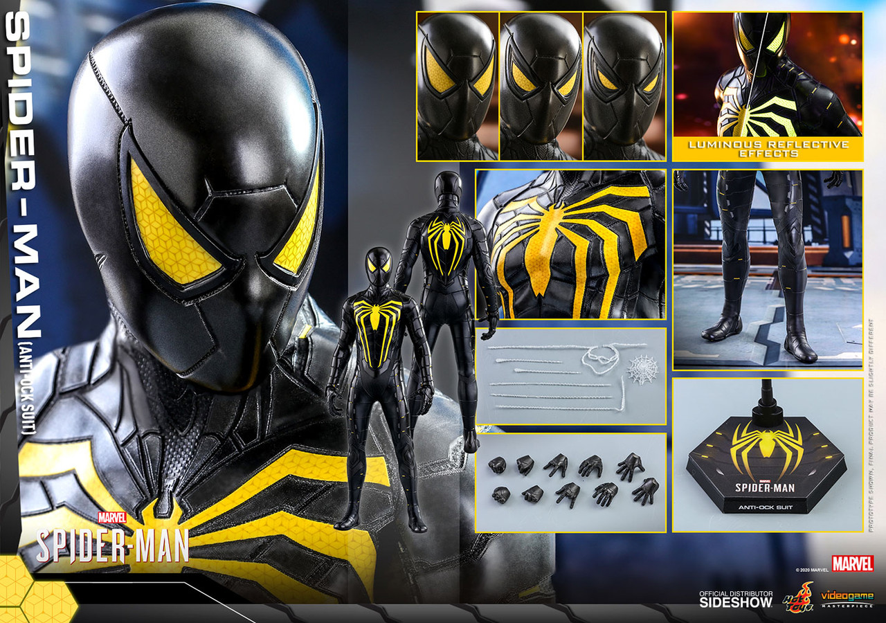 VGM44 Spider Man Anti Ock Suit 5