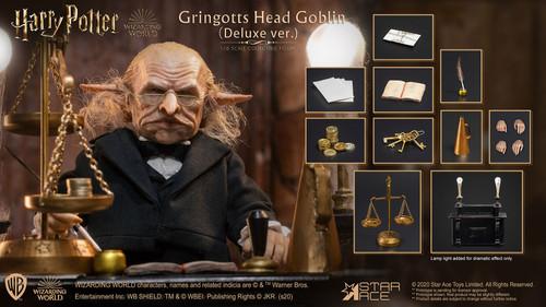 SA0092 Gringotts Head Goblin Deluxe 2