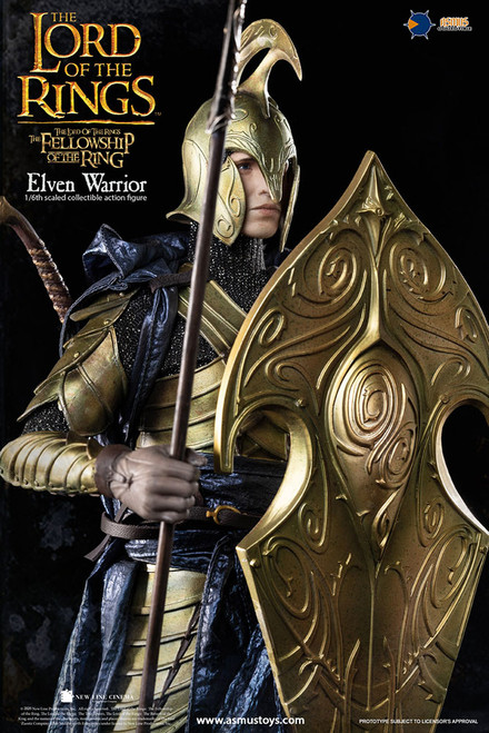 LOTR027W Elven Warrior 2