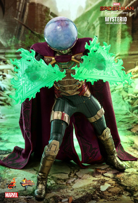 "Hot Toys 1/6 12"" MMS556 Mysterio Far From Home Figure"