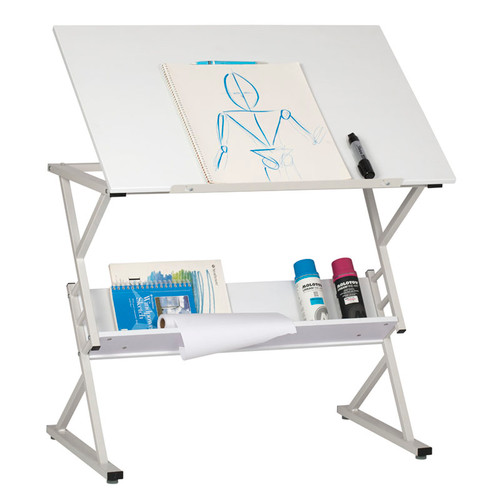 """700213, Prime Drawing Table, 24"""" x 36"""", White"""