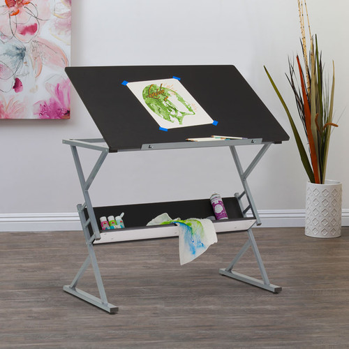 """700214, Prime Drawing Table, 24"""" x 36"""", Black"""