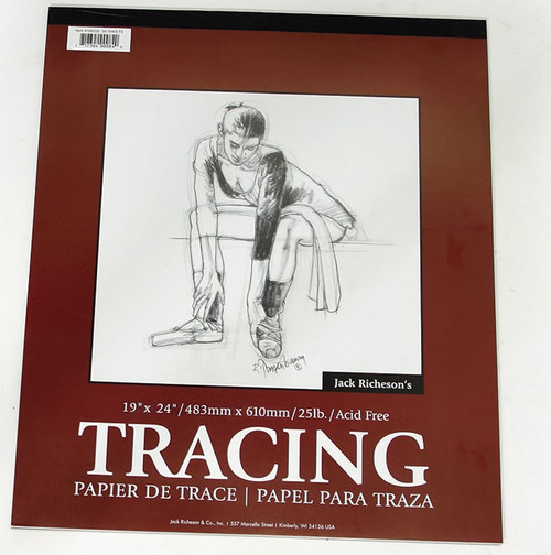 """341215, Parchment  Tracing Paper, 19"""" x 24""""  50 sheets"""