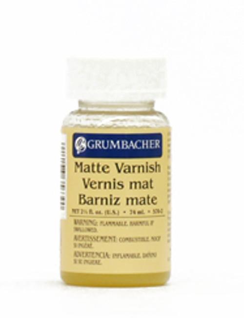 371817, Grumbacher Oil Picture Varnish, Matte, 2.5oz.