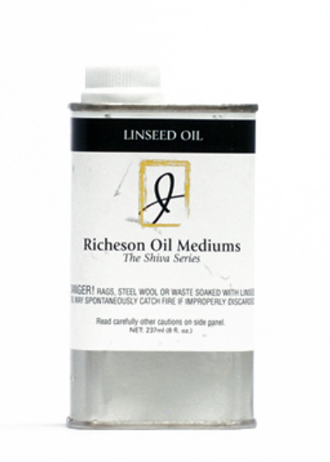 371819, J.Richeson Linseed Oil, 8oz.
