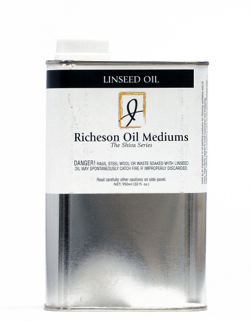 371820, J.Richeson Linseed Oil, 32oz.