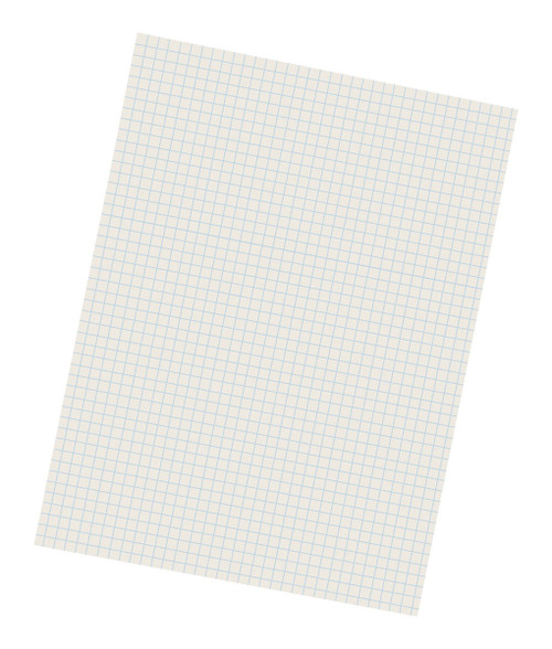 "311234, Cross Section Drawing Paper, 9"" x 12"" 500 sheets"