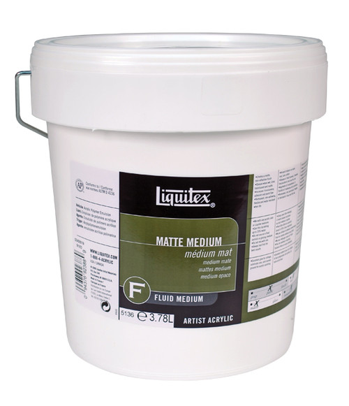 373100, Liquitex Professional Matte Medium, 128oz.