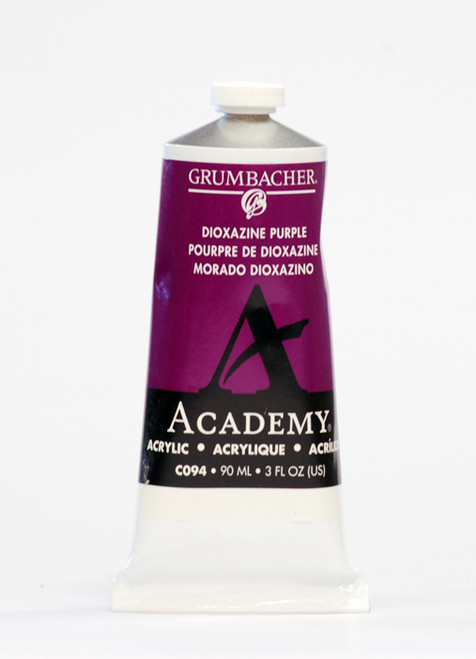 373511, Grumbacher Academy Acrylics, Dioxazine Purple, 90ml.