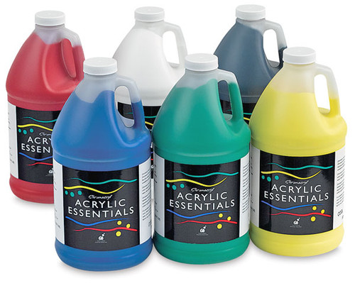 373036, Chromacryl Acrylic Essentials Set, 6x64oz.