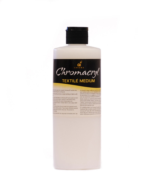 373004, Chromacryl Textile Medium, 16oz.