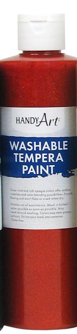 376113, Handy Art Washable Glitter Paint, ed, 16oz.