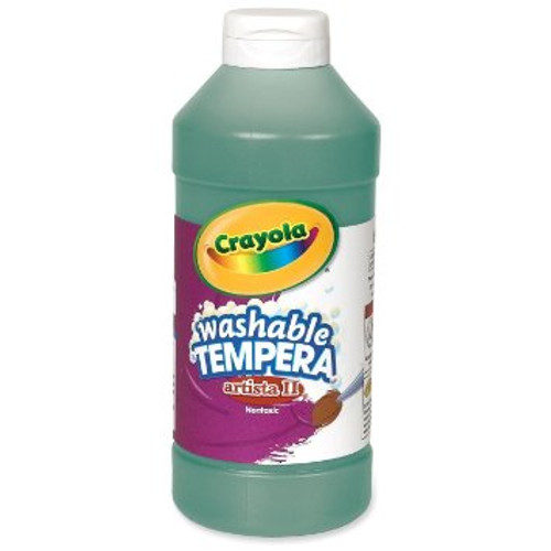 374603, Crayola Artista II Washable Tempera, Green, 32oz.