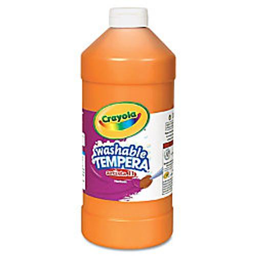 374605, Crayola Artista II Washable Tempera, Orange, 32oz.