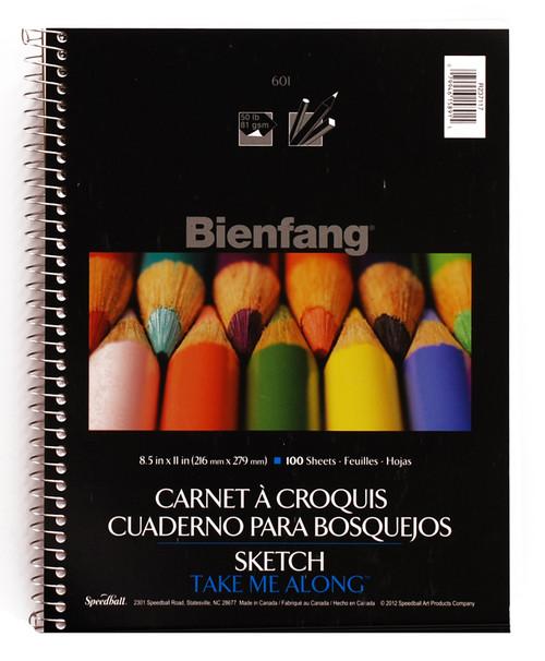 """341210, Bienfang Take Me Along Sketch Book, 8.5""""x11"""""""