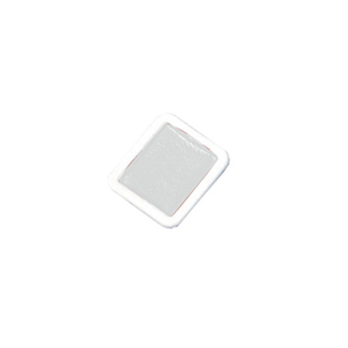 374341, Prang Refills, Half Pan, White, 12/pkg
