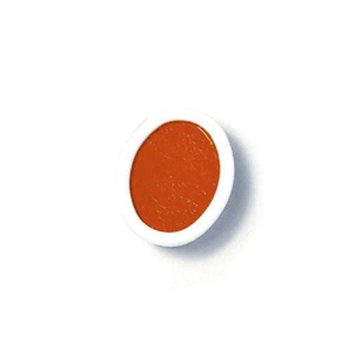 374333, Prang Refills, Oval Pan, Orange, 12/pkg