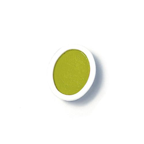 374354, Prang Refills, Oval Pan, Yellow-Green, 12/pkg