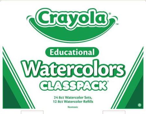 374295, Crayola Watercolors Classpack, 36 count set