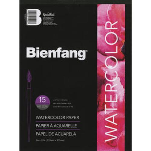 "341470, Bienfang pH Neutral Watercolor Paper, 9""x12"" 15 sheets"
