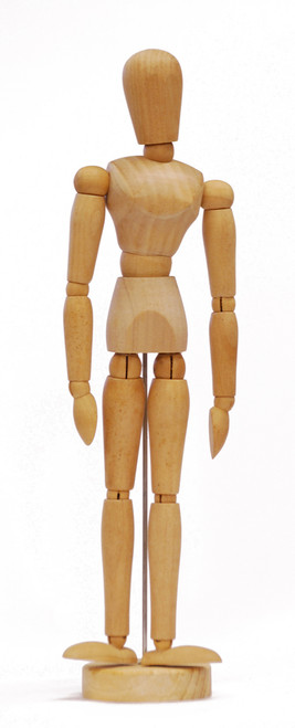 419322, Manikin Female 12""