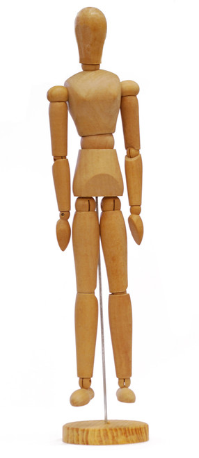 419323, Manikin Female 16""