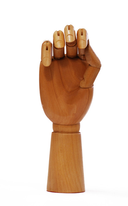 419333, Wooden Hand, Male (Left hand)