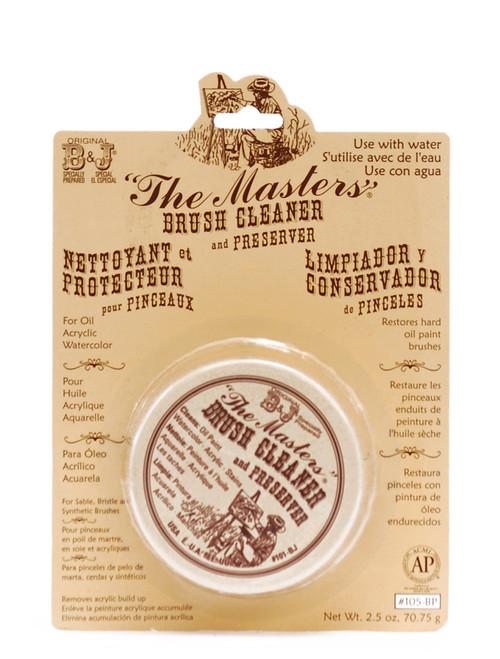 419015, The Master's Brush Cleaner and Preserver, 2 1/2oz.cake